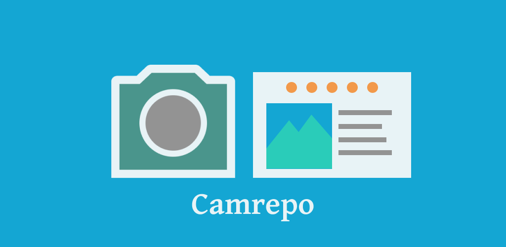 Camrepo Feature Graphic